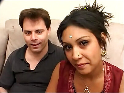Hot Indian with messy BDSM pussy