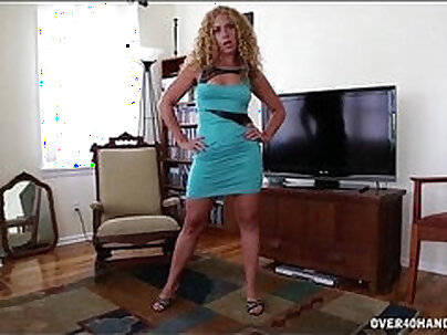 Caught by step mom Jerk Off Instruction