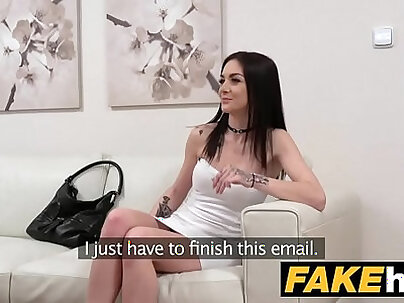 Fake Agent German Teen babe wants to try Porn