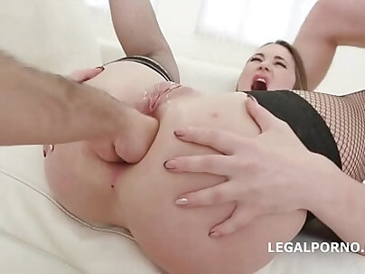 AndreaSex Gaping Ass hole fucked and facialized