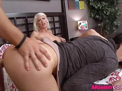 Mom seems to have found new cocks