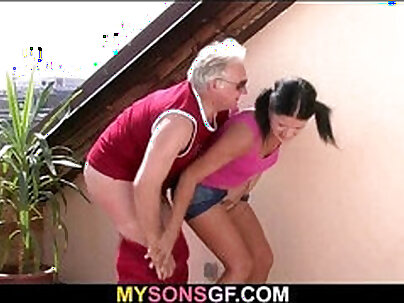 Big daddy watchesf last girlfriend compeers son compilation