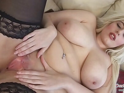 Hot chubby blonde slut fuck with cocksucked