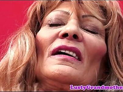 BABES - Grandma Krystal Parker Plowing Juicy Jizz Needs