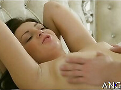 Busty Oriental Girl Riding Time