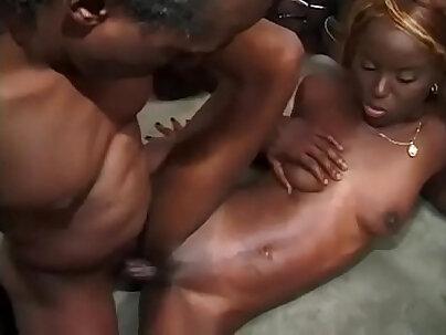 Cute Ebony Slut Shay Lure Begs For A Messy Facial