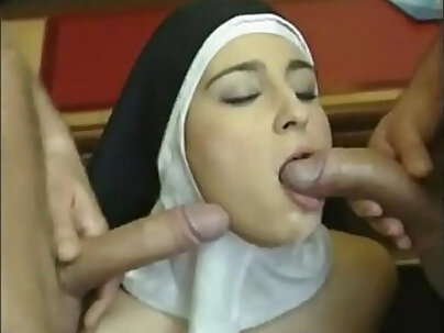 Nuns love cum