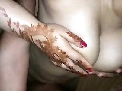 beauty married couple enjoys fisted sex