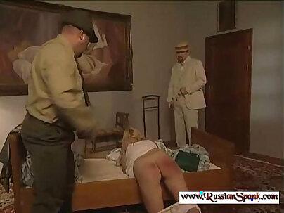 Severe century spanking