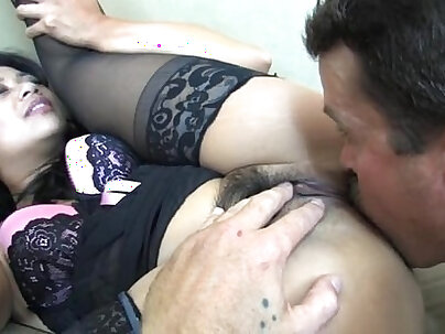 Lucky Starr has gas for her slave