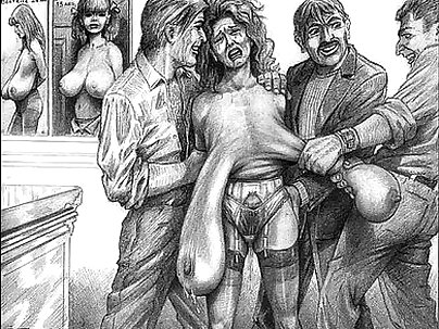 Classic Vintage Horror Artwork