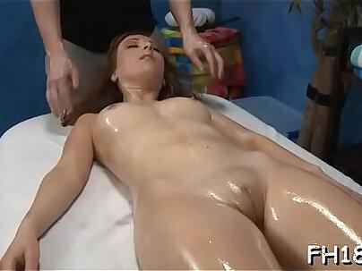 Watch those girls get drilled hard by their massage therapist