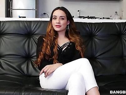 Redhead Colombiana Amateur Kelly Lu Fucks Like A Pro