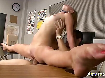 Beauty schoolgirl plays with big boobs after gym in the locker room