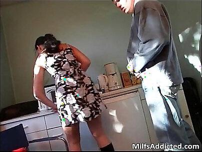 Very hot milf got banged by her husband