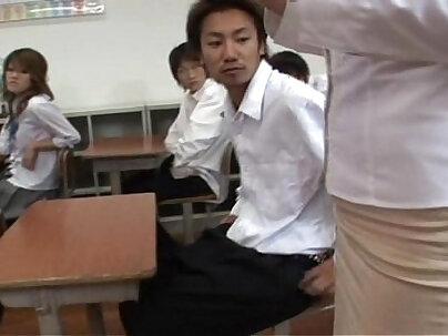 Breed it up teacher gangbang