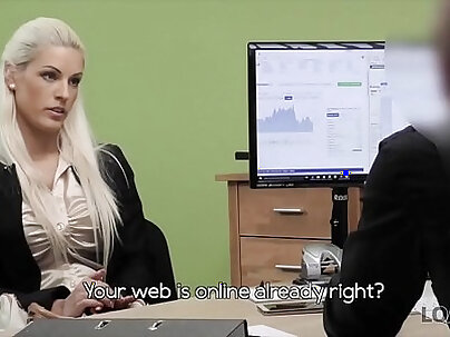 Charlotte and Jenna gets rid of lingerie and naked garter