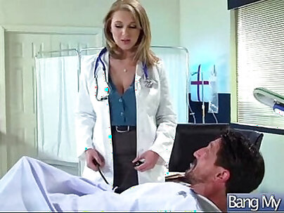 Horny Patient (brooke wylde) Get Sex Treatment From Doctor clip-05