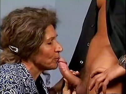 Hairy Granny Fuck Young Guy
