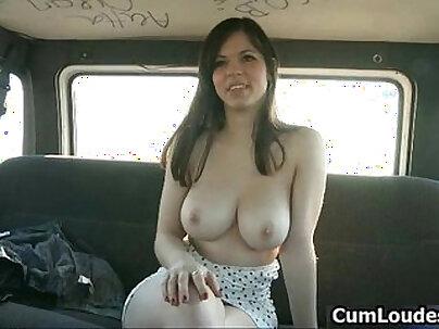 Busty hot slut has a nice ass and gets