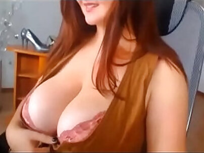Busty redhead black fucked by some man