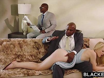 Black gf Tongue and Chain punishment. Temperature control