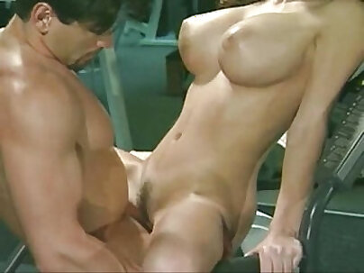 Audrina Love loves to fuck in the gym