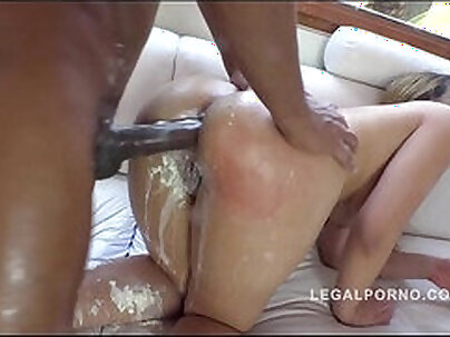 madgefunkina interracial three cream Andeva maggiotta