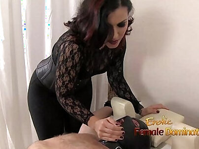 Masked Gimp Learns What Real Female Domination Feels Like