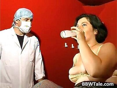 Mature slut loves bondage and hard pounding Creampied