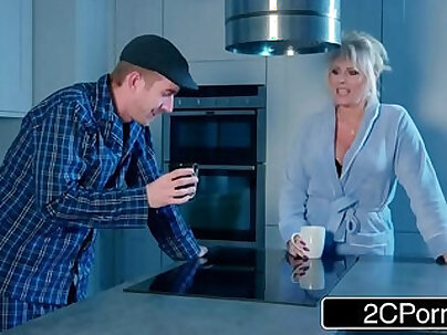 Alessa Savage Takes Hard Ass Pounding From Stepdad With Her Mom Downstairs