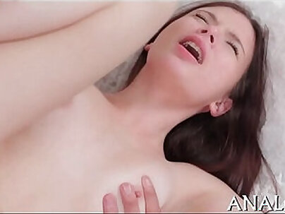 Busty chick assfucked after sucking