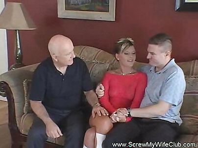 milf wife share with her first and my hubby