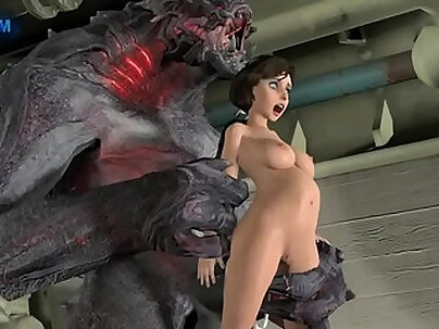 New girlfriend Monster Blade with angel