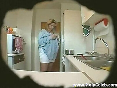 Big tits stepsis fucking at her aunt Kitchen D