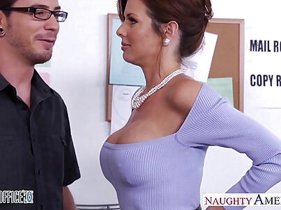 Couple gets fucked by dicks in the office