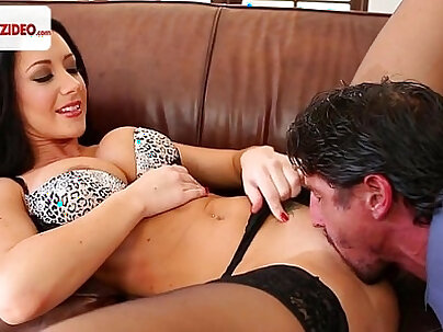 Amazing jap babe in lingerie fucked
