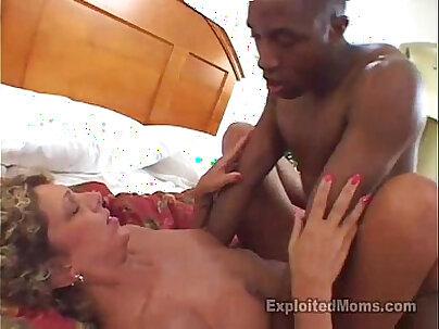 Amateur Mom Trying Big Black Cock