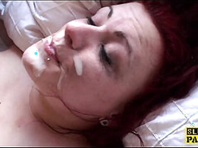 Horny British Girl Redhead Dominated by Ally